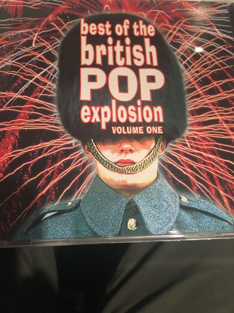 Best Of The British Pop Explosion Vol 1 -  cover