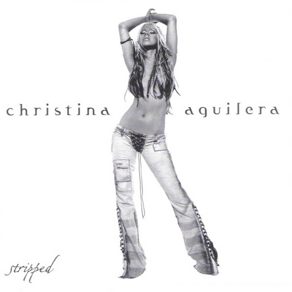 Stripped - CD cover