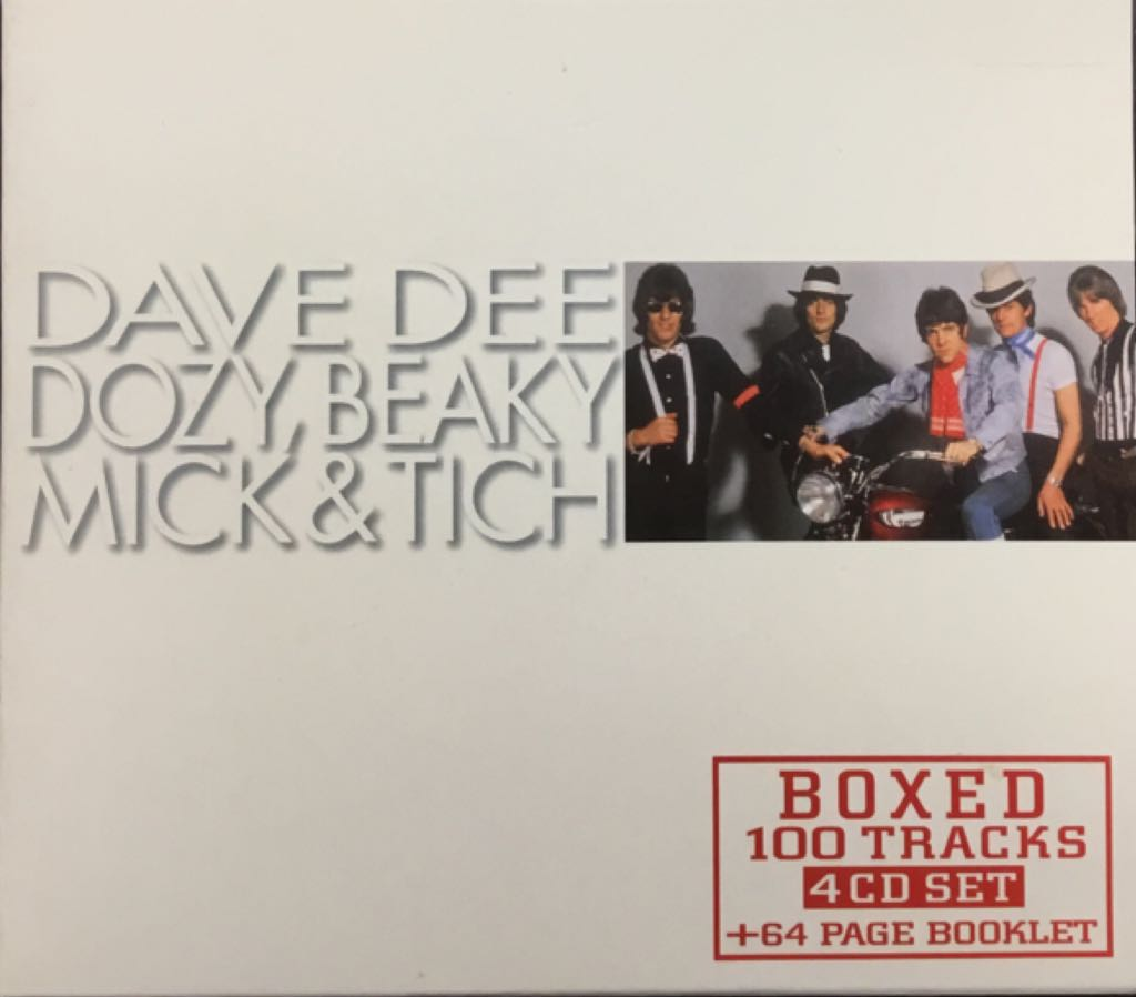 Dave Dee,Dozy,Beaky,Mick & Tich 100 Tracks - CD cover