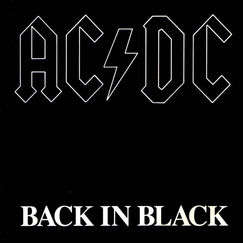 Back In Black - CD cover