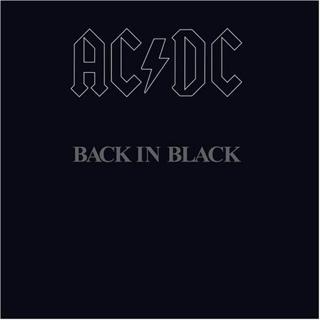 Back In Black - CD cover