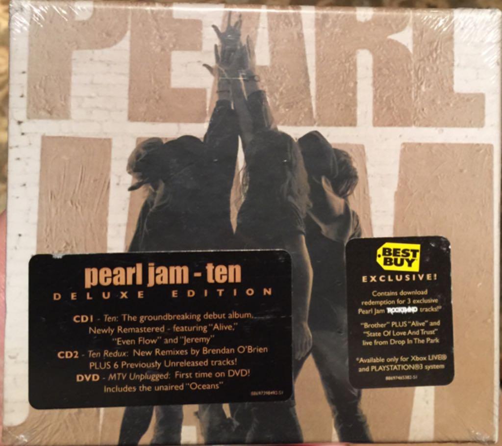 Ten - CD cover