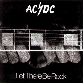 ACDC - Let There Be Rock - CD cover