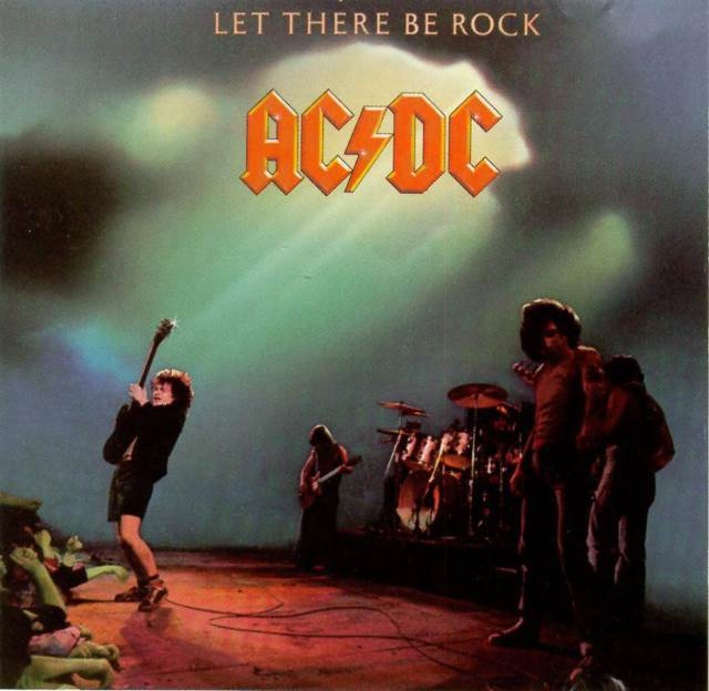 Let There Be Rock -  cover