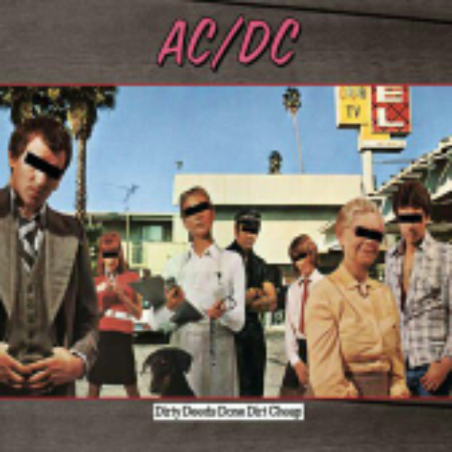 Dirty Deeds Done Dirt Cheap - CD cover