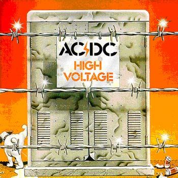 High Voltage - CD cover