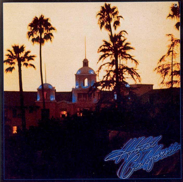 Hotel California - CD cover