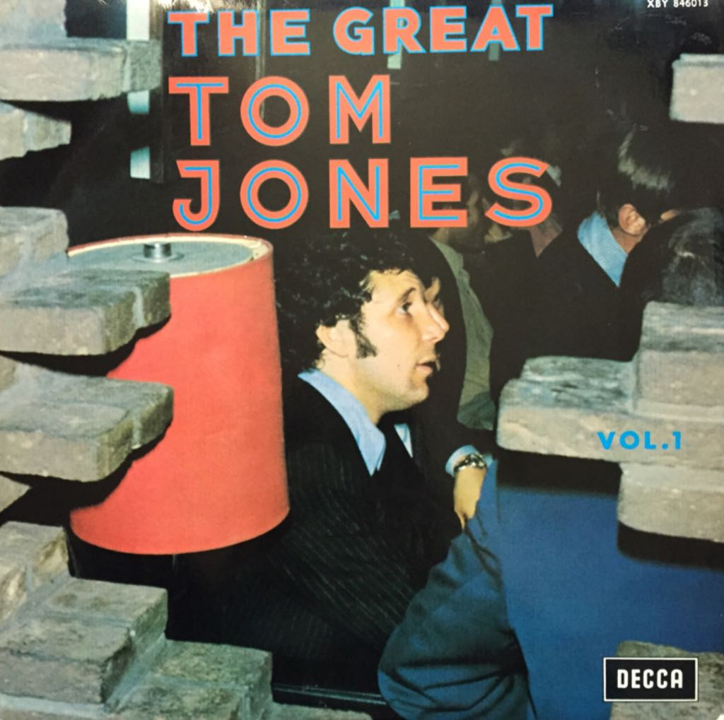 The Great Tom Jones Vol.1 -  cover