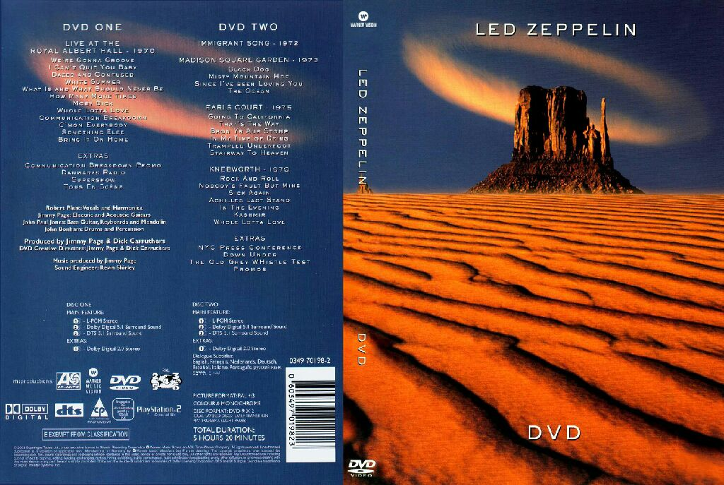 Led Zeppelin - DVD-A cover