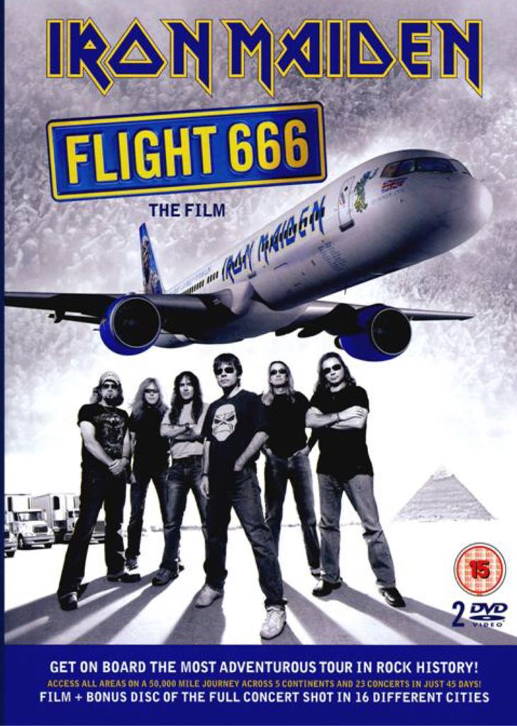 Flight 666 - DVD-A cover