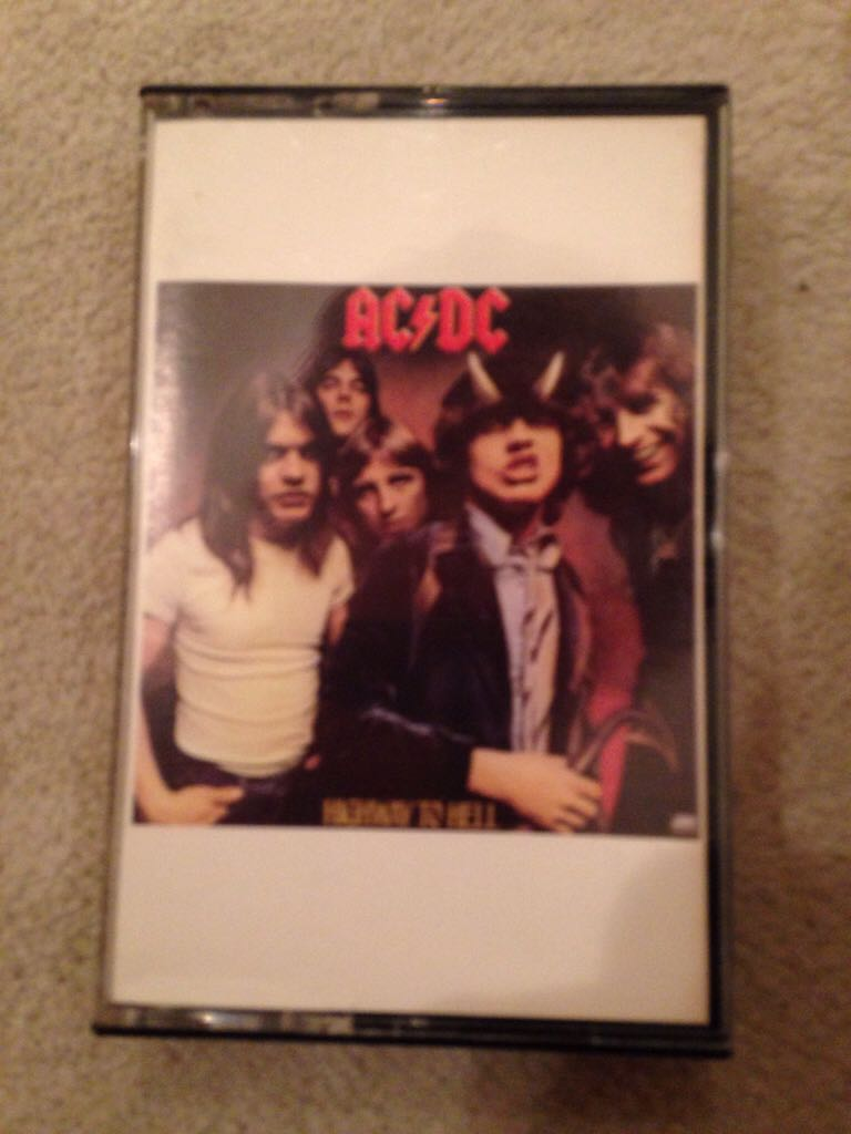 Highway To Hell - Cassette cover