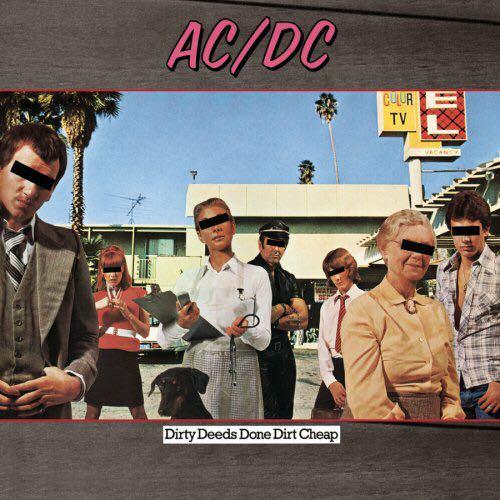 Dirty Deeds Done Dirt Cheap - Cassette cover