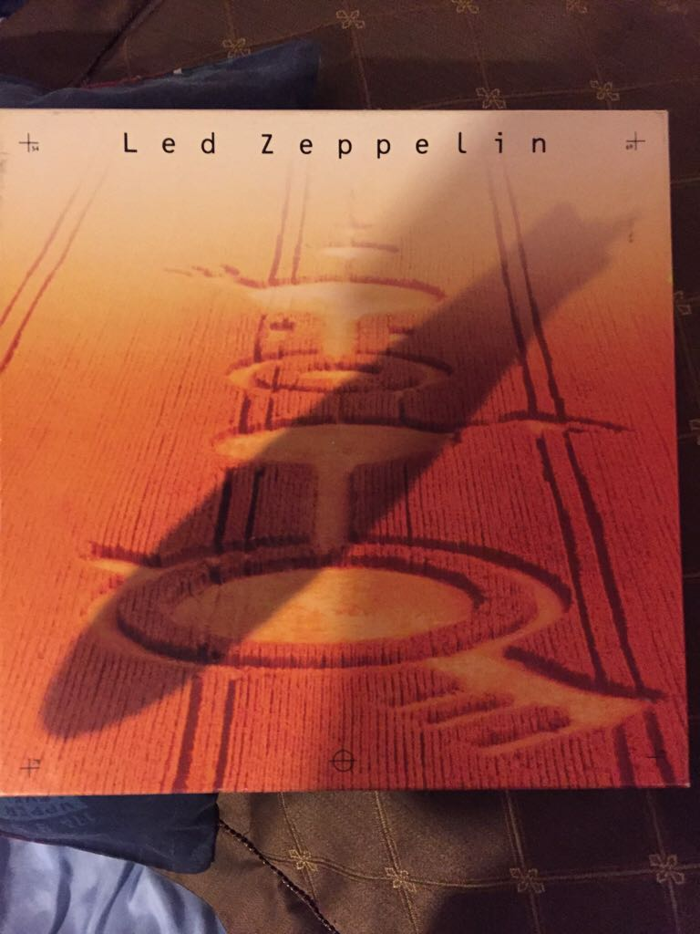 Led Zeppelin - Cassette cover