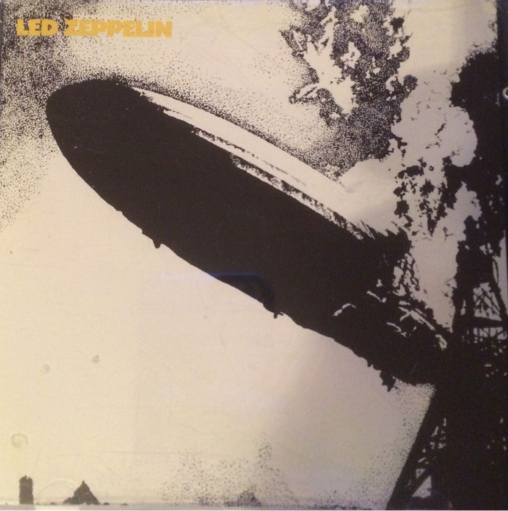 Led Zeppelin - CD cover