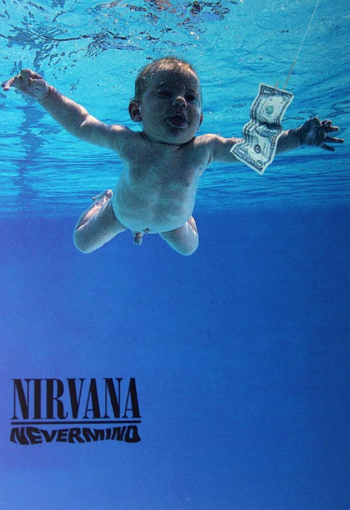 Nevermind - Cassette cover