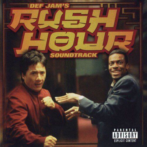 Rush Hour  - CD cover