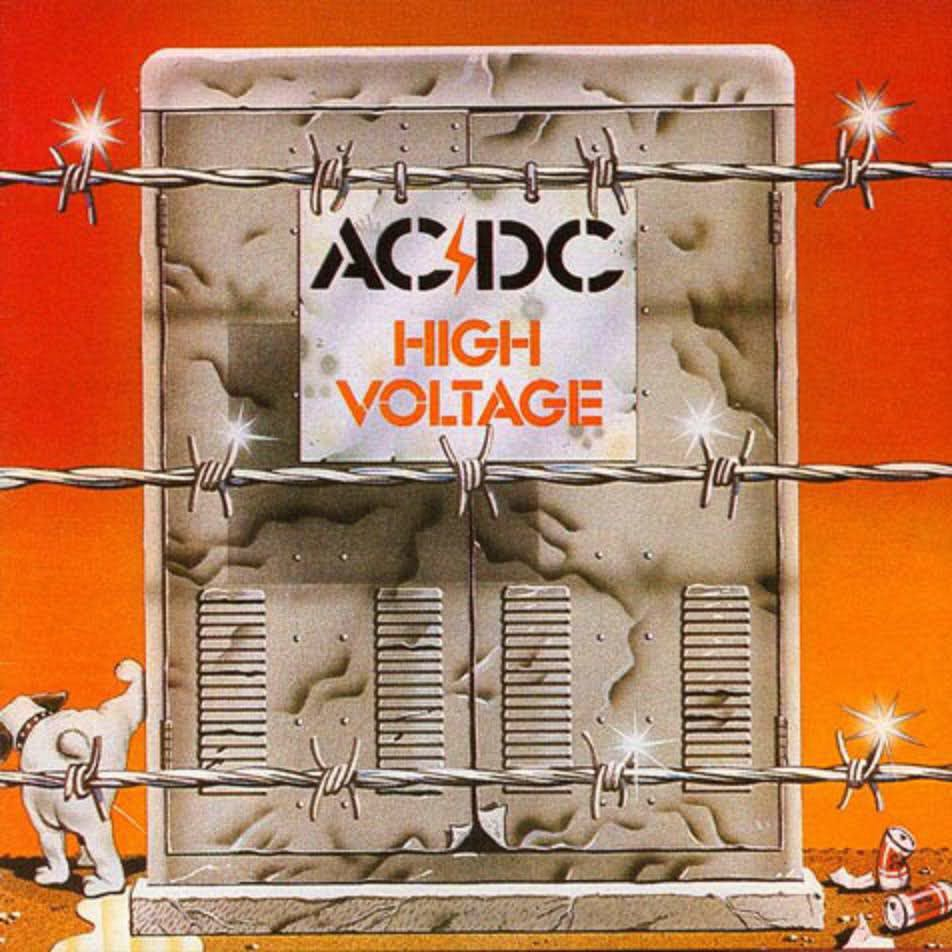 High Voltage -  cover