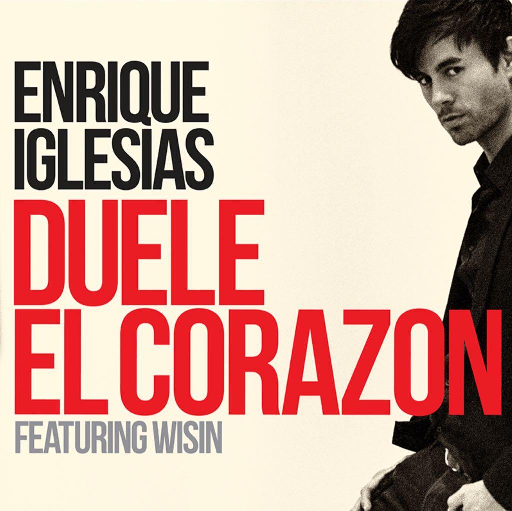 Duele El Corazon - CD cover
