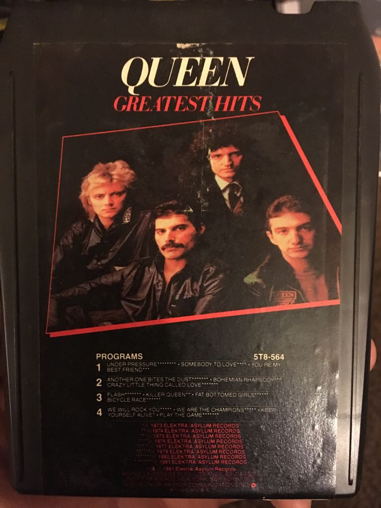 Greatest Hits - 8-Track Cartridge cover