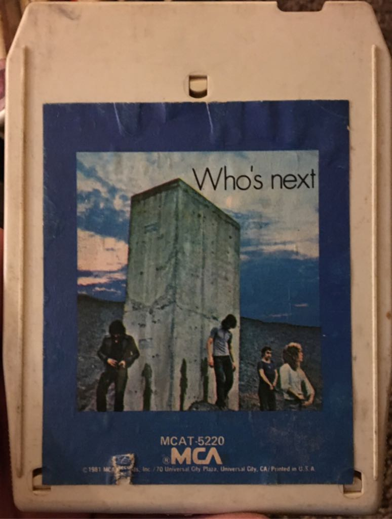 Who's Next - 8-Track Cartridge cover