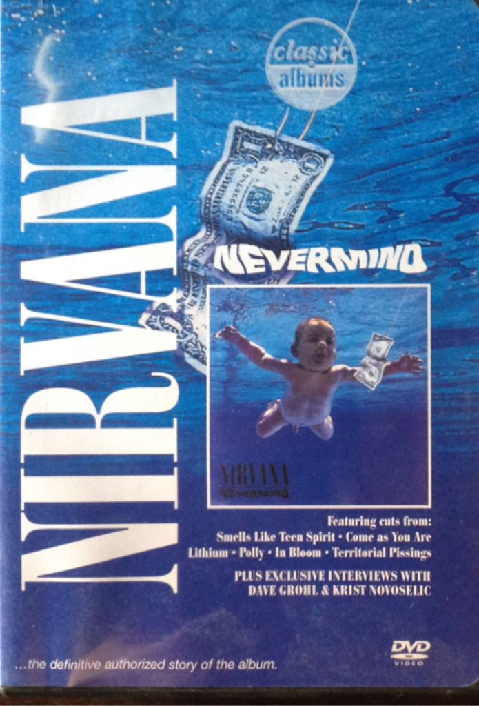 Nevermind - DVD-A cover