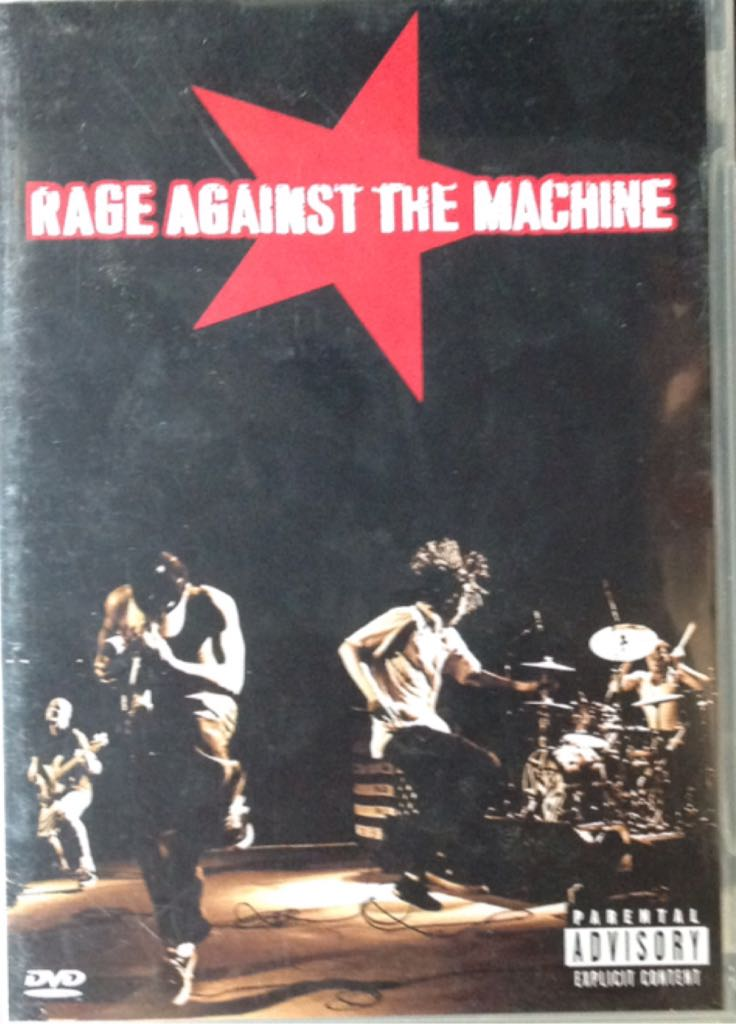 Rage Against The Machine - DVD-A cover