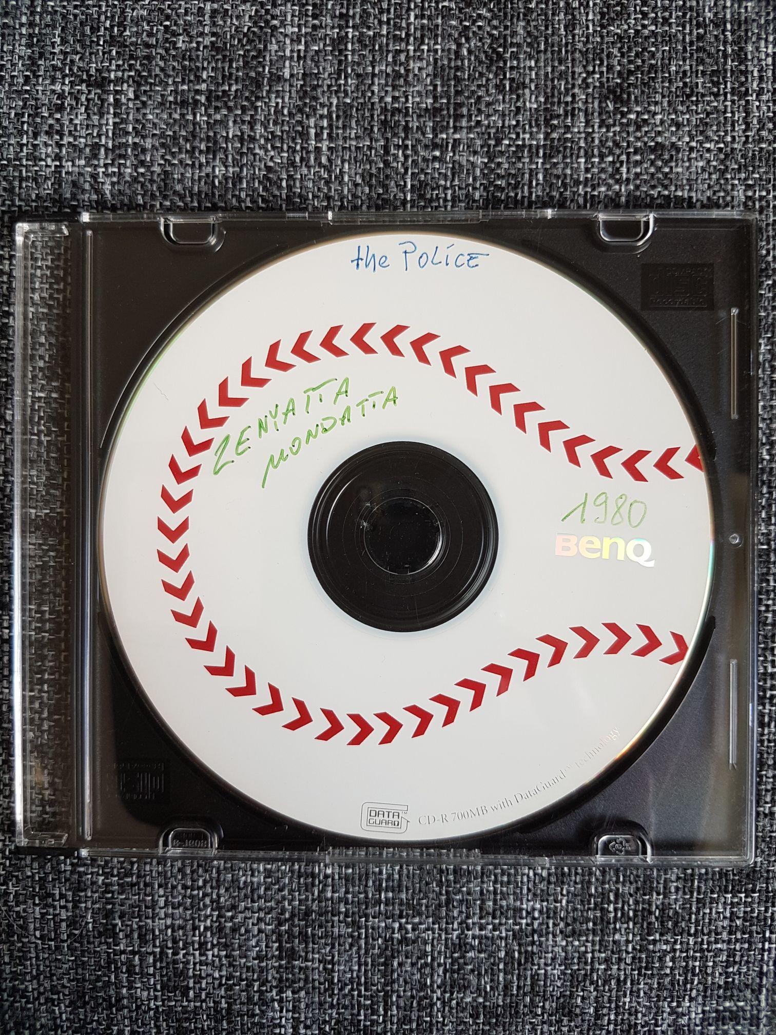 Zenyatta Mondatta - CD-R cover