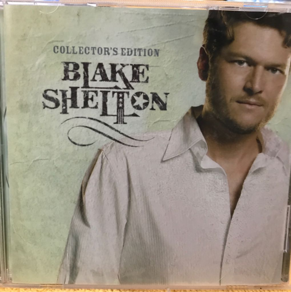 Blake Shelton - CD cover