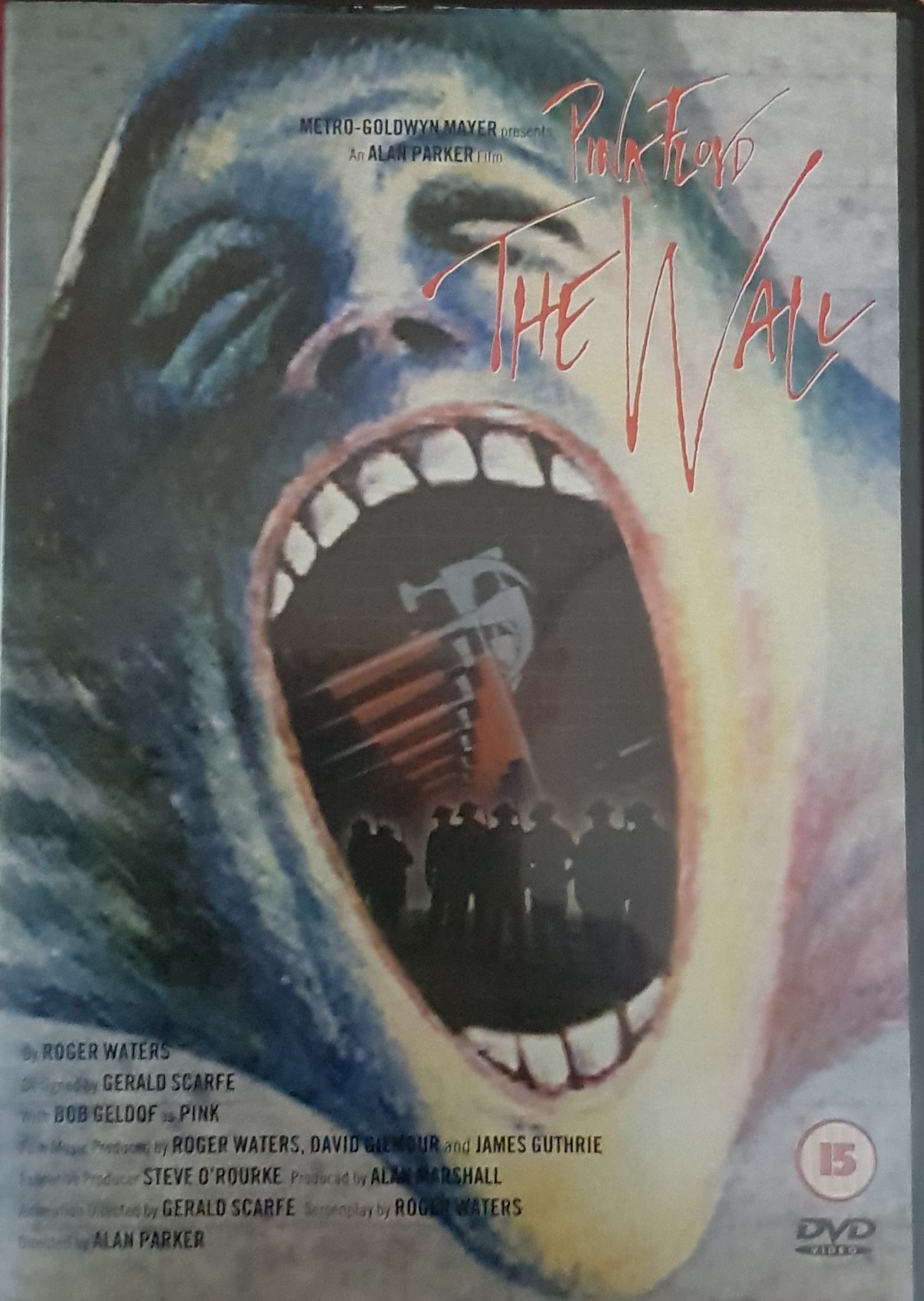 The Wall - DVD-A cover