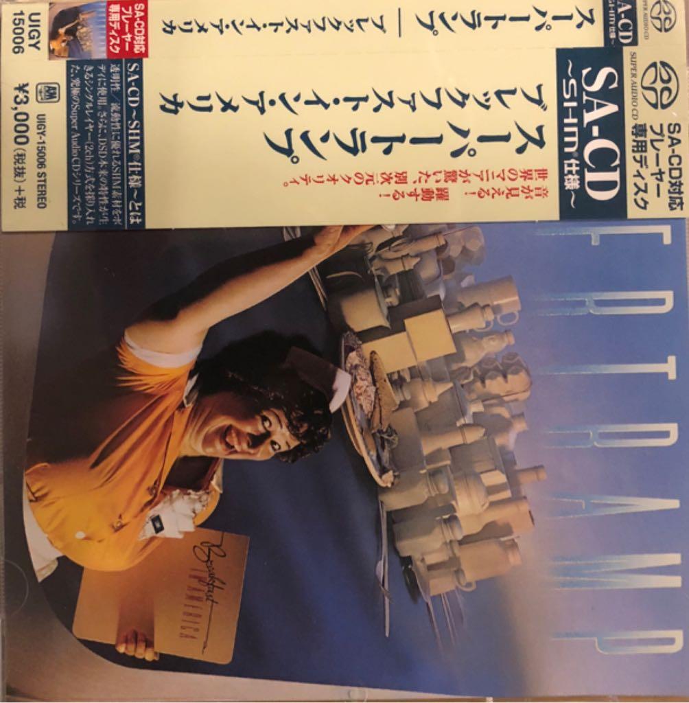 Breakfast In America - SACD cover