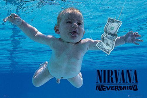 Nevermind - CD-R cover