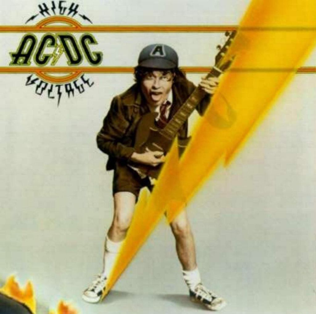 High Voltage - MP3 cover