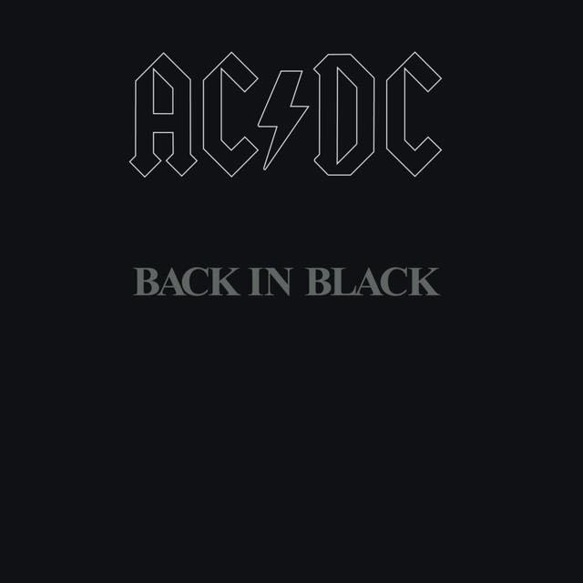 Back In Black - MP3 cover
