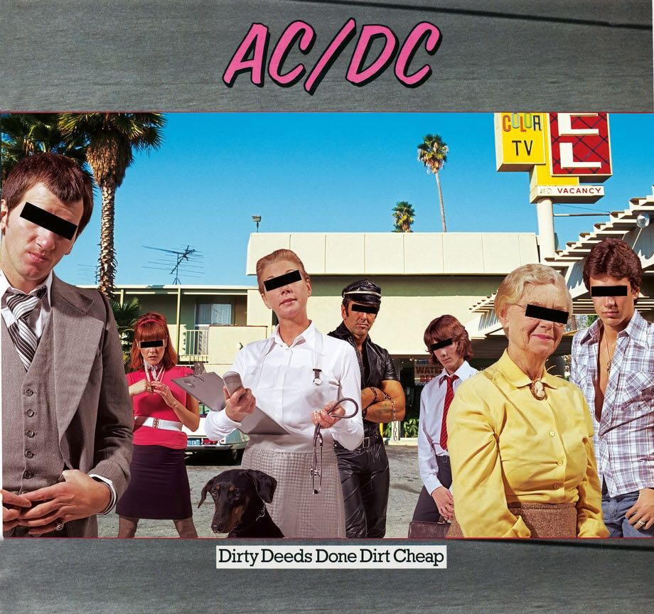 Dirty Deeds Done Dirt Cheap -  cover