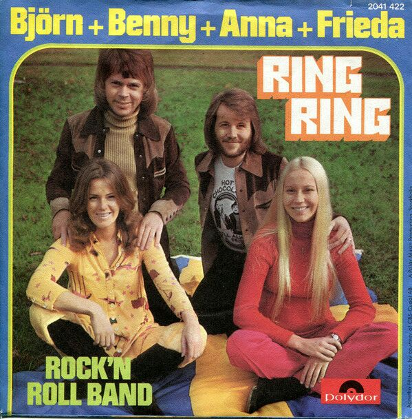1973a - Ring Ring (Vinyl Printed) -  cover