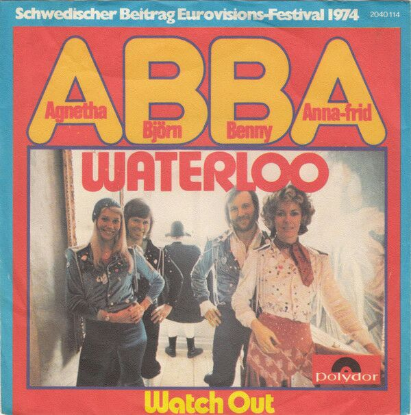 1974a - Waterloo (Vinyl Printed) -  cover