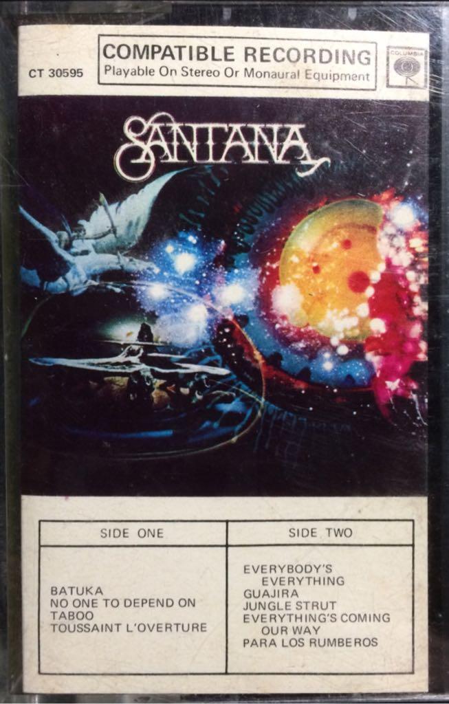 Santana - Cassette cover