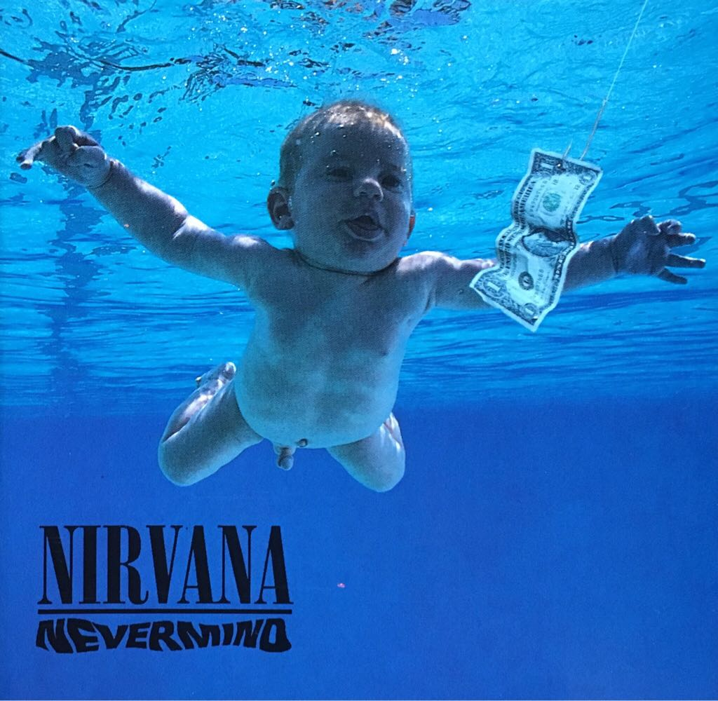 Nevermind - CD cover