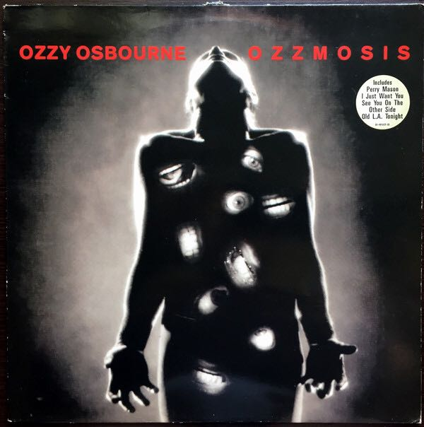 Ozzmosis - CD cover