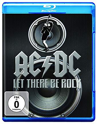 Let There Be Rock - CD/BluRay cover
