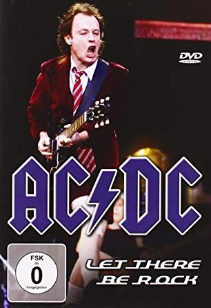 Let There Be Rock - CD/DVD cover