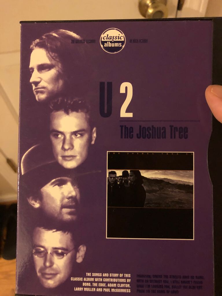 The Joshua Tree - DVD-A cover
