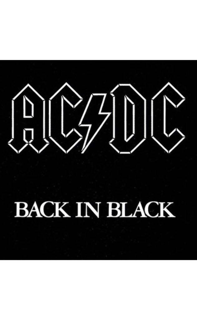 Back In Black -  cover