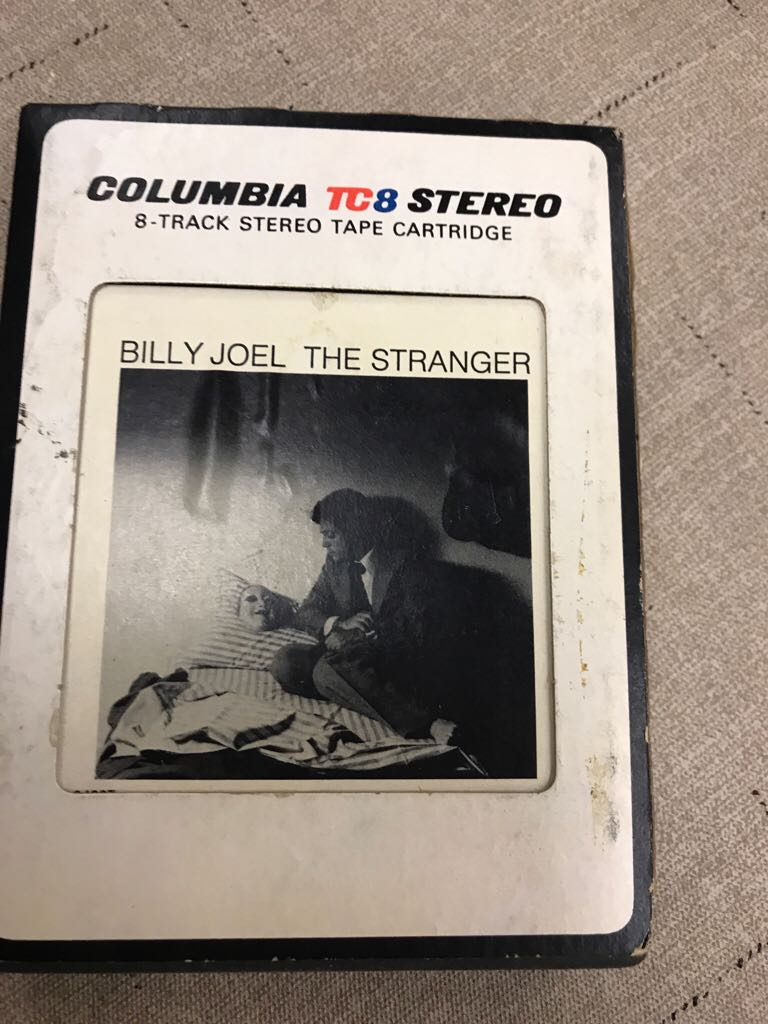 The Stranger - 8-Track Cartridge cover