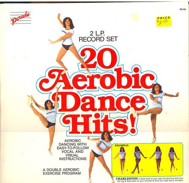 20 Aerobic Dance Hits! -  cover