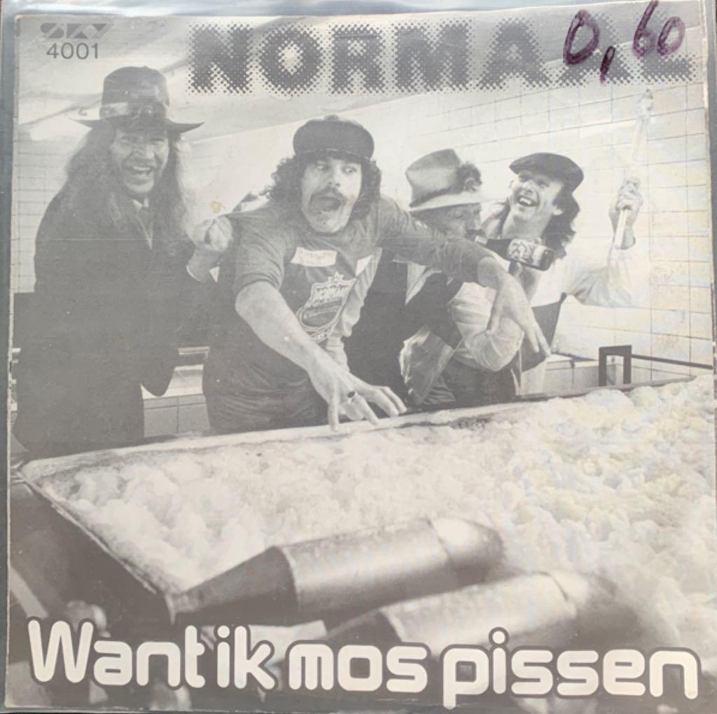 Want Ik Mos Pissen -  cover