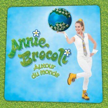 Annie Brocoli Autour Du Monde - CD cover