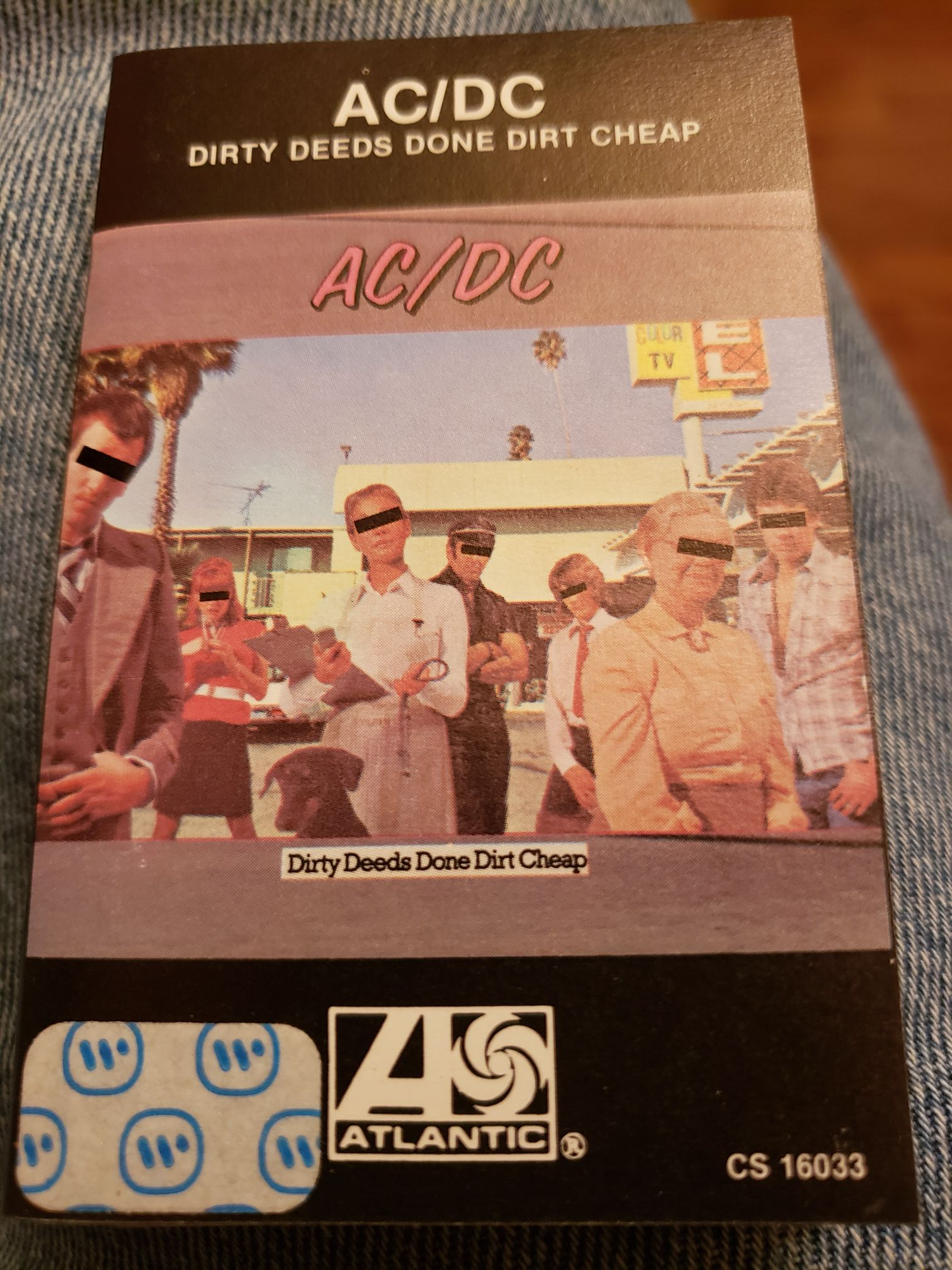 Dirty Deeds Done Dirt Cheap - Cassette cover