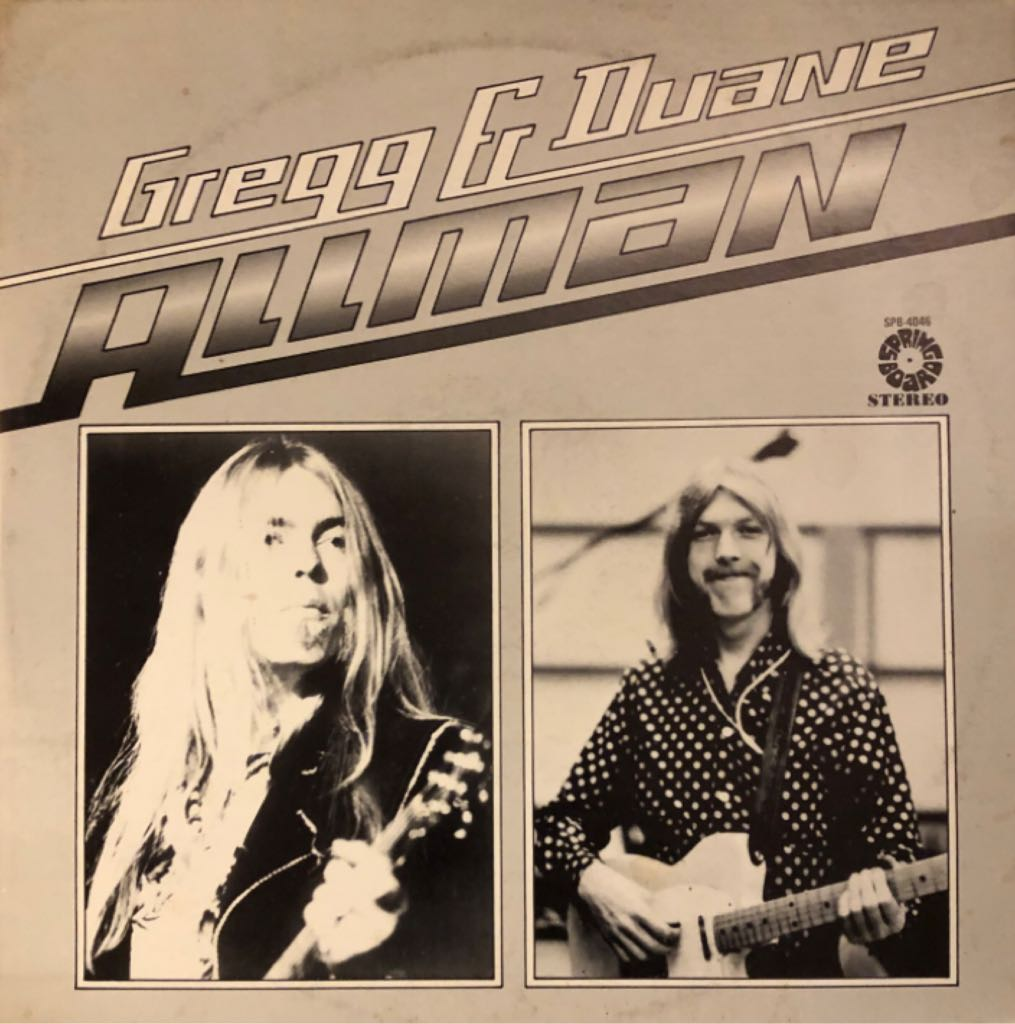 Gregg & Duane Allman -  cover