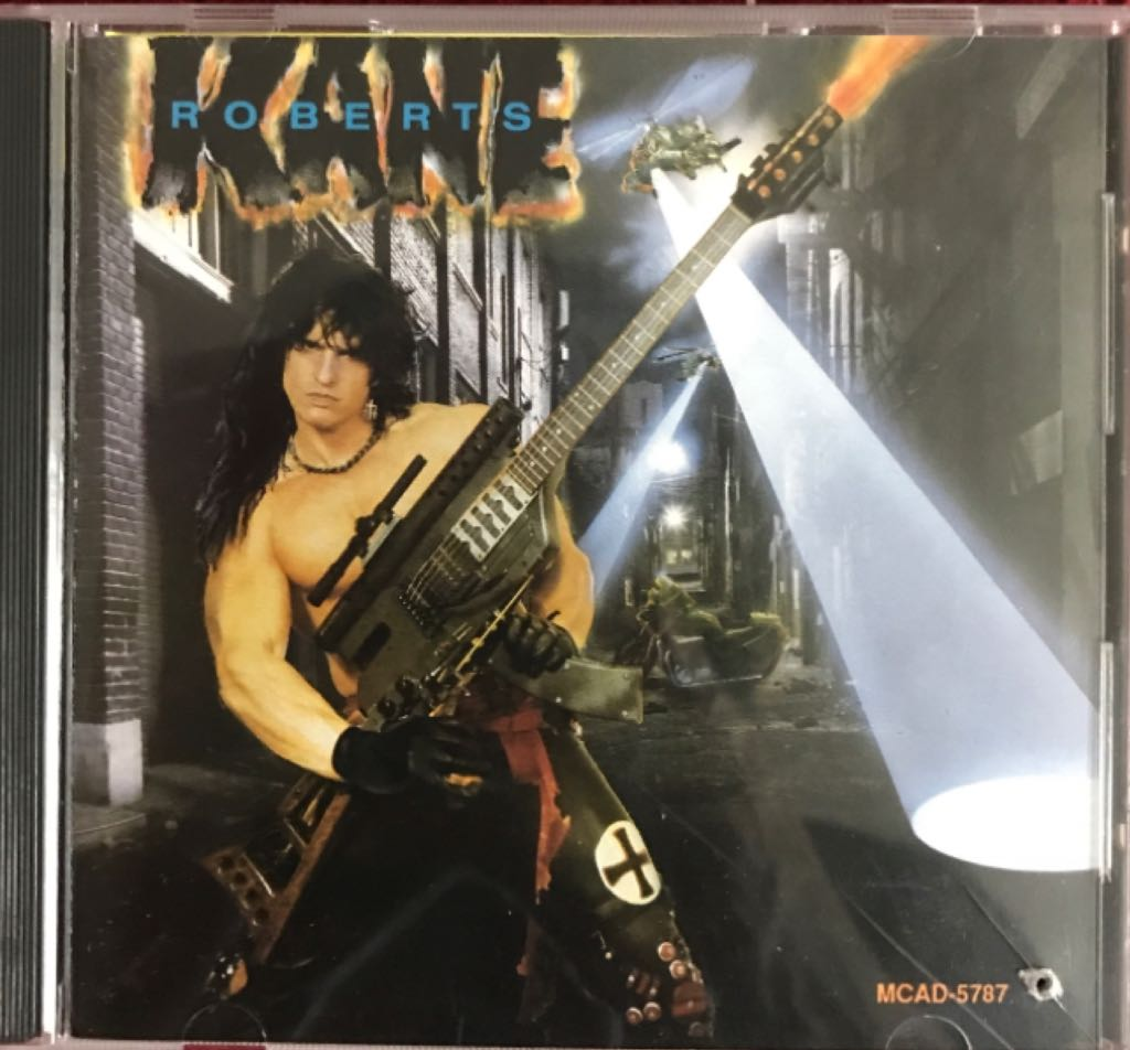 1987 Kane Roberts - CD cover